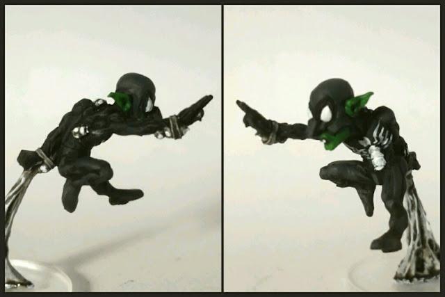 Goblin spidergoblin pintado por Xela