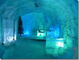 la residence de Ded Moroz. grand pere du froid