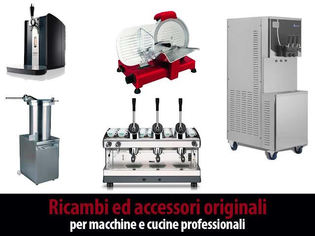 Ricambi per elettrodomestici professionali, offerta vendita online