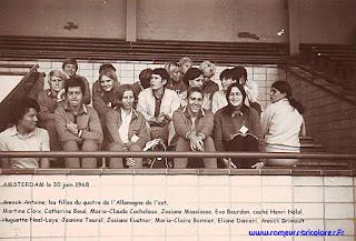 1968-La saison de l'équipe de France d'aviron