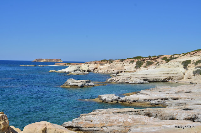 белые камни, белые скалы, пафос, кипр, coral bay, white rocks