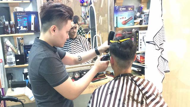 Dạy Barber cho người mới bắt đầu _ Thực hành tóc thật 100%