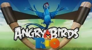 Download Free Angry Birds Rio Game for Symbian^3 on April 8th