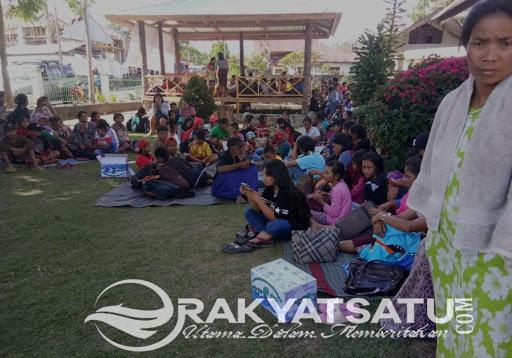 Akibat Gempa 5,5 SR, Ratusan warga Mamasa Mengungsi ke Tana Toraja