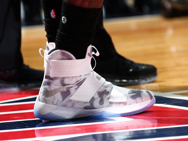 King James Debuts Camo NIKEiD LeBron Soldier 10 on Veterans Day
