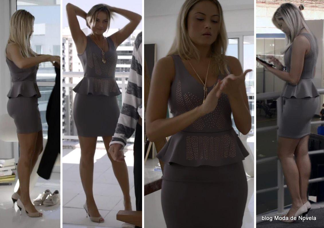 moda da novela G3R4Ç4O BR4S1L - look da Ludmila dia 10 de maio