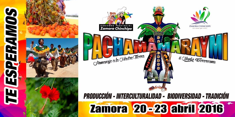 INVITACIÓN A PACHAMA RAYMI 2016 SE DIFUNDIRÁ A NIVEL NACIONAL E INTERNACIONAL.