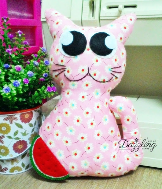 Cat Plushies / Toys | Handmade