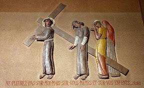 VIIIème Station : Jésus rencontre les femmes de Jérusalem