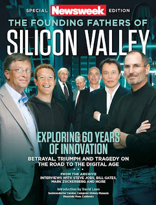 cover Newsweek Special Edition The Founding Fathers of Silicon Valley 2016