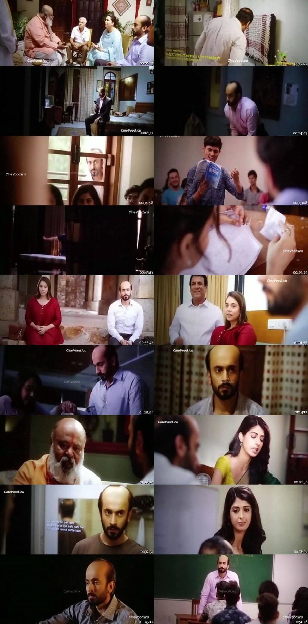 Screen Shot Of Ujda Chaman 2019 Full Movie Free Download HD 720P Watch Online