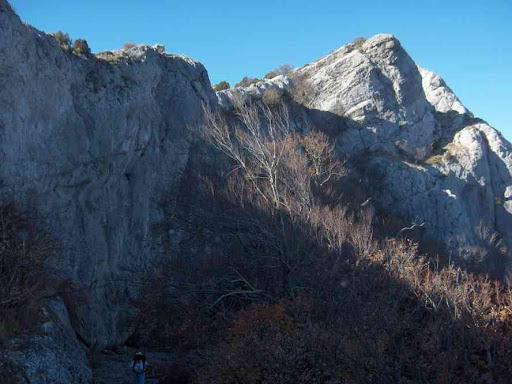 Vue sur le sommet du Saint-Pilon