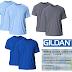 2 Pack Gildan Men's G2000 Ultra Cotton 6oz Adult T-Shirt Only $5.99