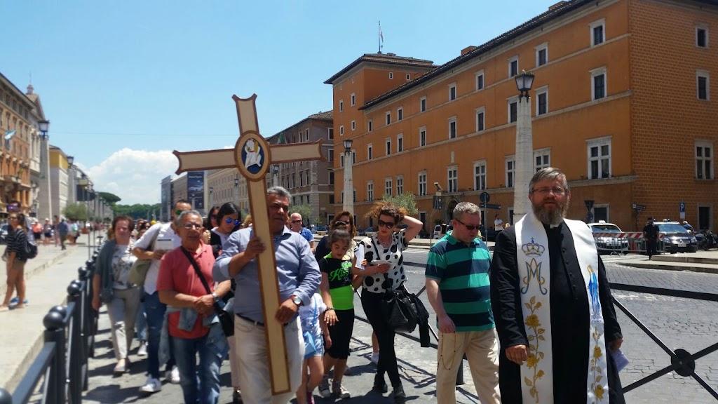 Pielgrzymi z Castellammare w Rzymie, 8 czerwca 2016 - IMG-20160608-WA0019.jpg