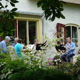 Muziek, kunst en bloemenpracht in tuin 'De Uiterwaard'