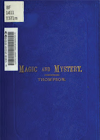 Cover of Alfred Thompson's Book Magic And Mystery A Popular History