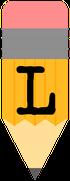 Pencil-alphabet-Banner-L