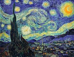 Van Gogh Painting The Starry Night 1889