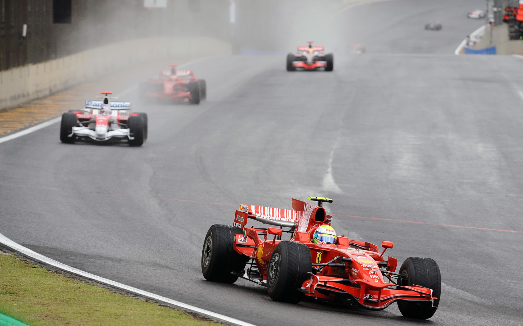 hd wallpapers 2008 formula 1 grand prix of brazil | f1-fansite