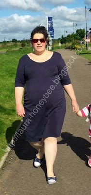pregnant lady walking