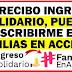 ¿Es posible ingresar a Familias en Acción si se recibe apoyo de Ingreso Solidario?