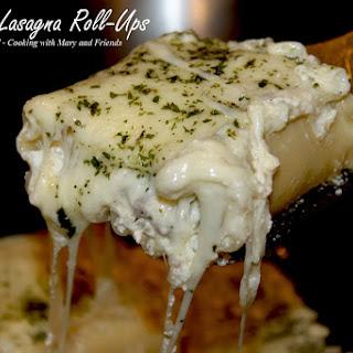 Alfredo Lasagna Roll-Ups.