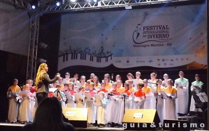Festival internacional de Inverno de Domingos Martins