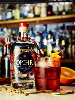 Ophir Spiced Gin, Gin, gin cocktails