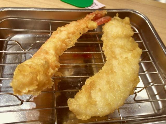 エビと白身魚の天ぷら