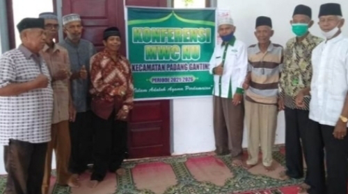 Duet Bukhari - Marjusi Pimpin MWCNU Padang Ganting Tanah Datar 2021-2016