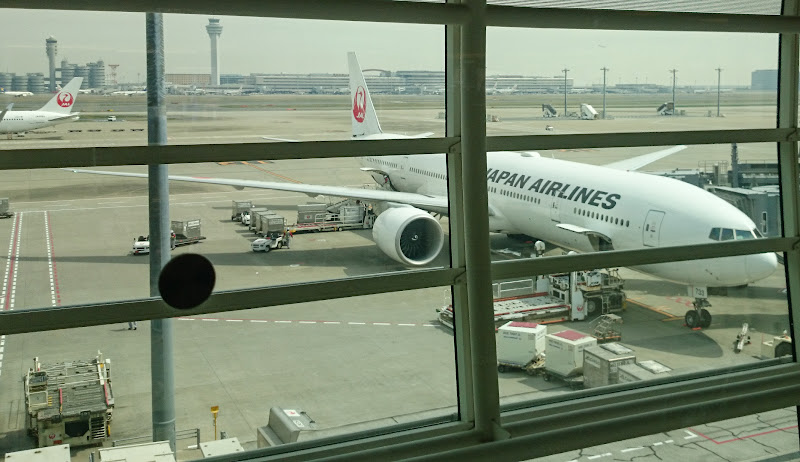 JL%252520F%252520HND LHR 59 - REVIEW - JAL : First Class - Tokyo Haneda to London (B77W)