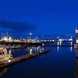 the harbor of Reykjavik in Reykjavik, Hofuoborgarsvaeoi, Iceland