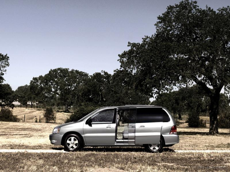 2007 ford freestar minivan specifications pictures prices. Black Bedroom Furniture Sets. Home Design Ideas
