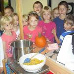 Vařili jsme dýňovou polévku 2.třída Pod Lipkami 24.10.2014