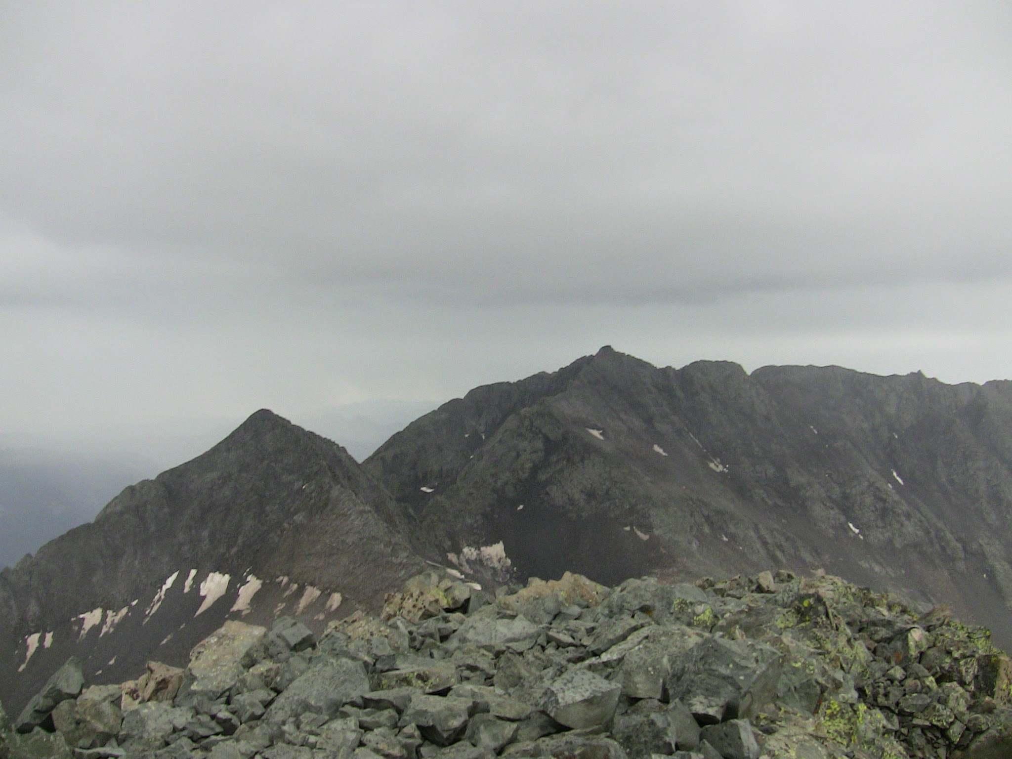 Gladstone Peak and Mount Wilson from the Summit