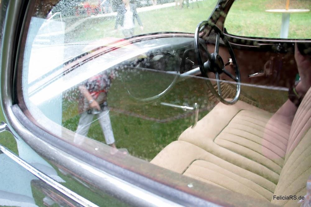 Škoda 935 Prototype Im innenraum fehlen noch ein paar Teile