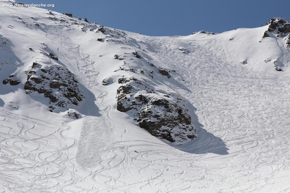 Avalanche Vanoise, secteur Aiguille Rouge, Combe des Lanchettes-couloir Nord-Les Arcs - Photo 1