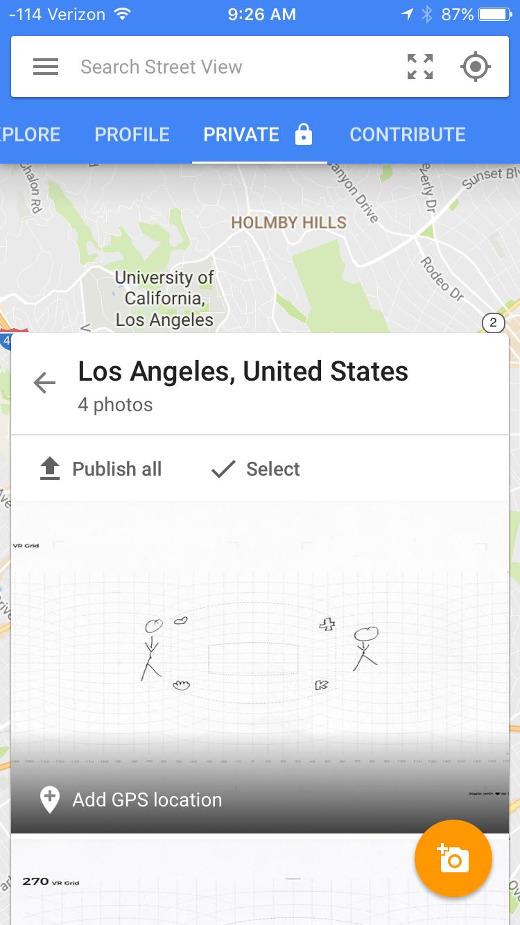Error/Refresh black screen when Import 360 photo to Street ... on google challenge, google disney, google find, google help, google post, google potato, google star, google sleep, google share, google filter,