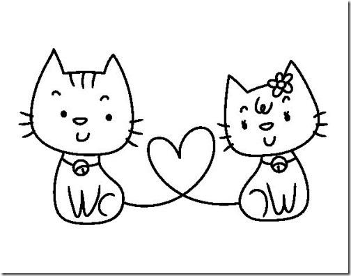 gatos colorear blogcolorear (12)
