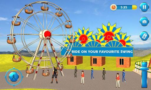 Theme Park Fun Swings Ride apkdomains screenshots 1