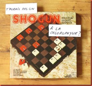 Shogun à la Chlorophylle Papiers Ludiques