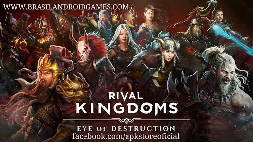 Rival Kingdoms Android Imagem do Jogo