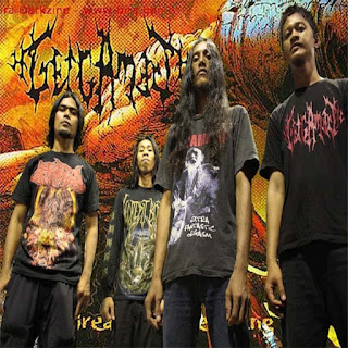 Photo Band Wallpaper Artwork Gelgamesh band death Metal Cibinong Bogor