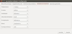 My Weather Indicator para Ubuntu - Configuracion 3