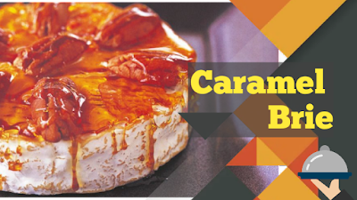caramel brie delicious and Honeyed Fruit Nuggets Recipe Appetizer