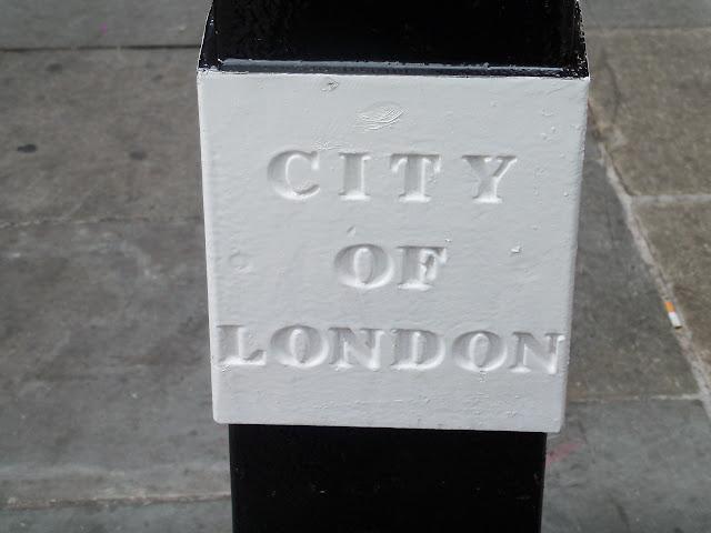 City of London marker