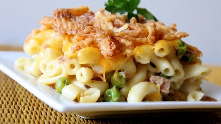 Easy Tuna Casserole Recipe