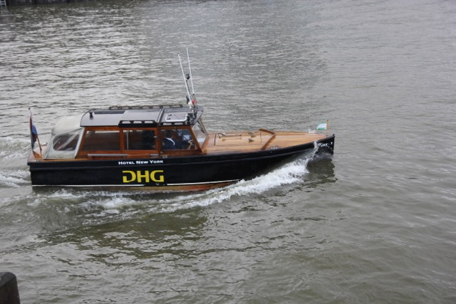 Water Taxi across the River Maas