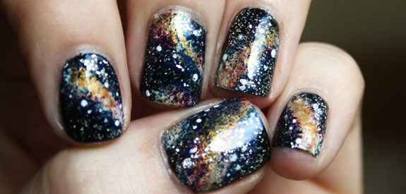 Nail Art Designs Galaxy Hession Hairdressing