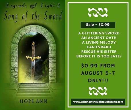 Song of the Sword August 5-7
